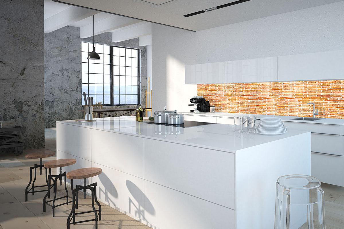 Küchenrückwände und Arbeitsplatten aus Glas | Glasmanufaktur ...